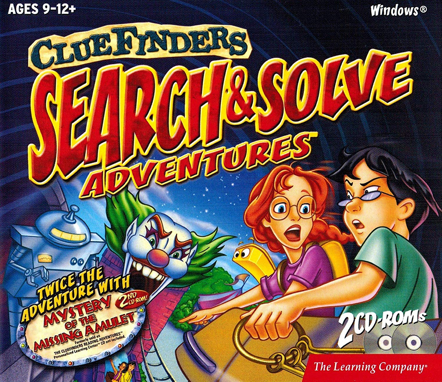 The ClueFinders Search and Solve Adventures: The Phantom Amusement Park (2000)