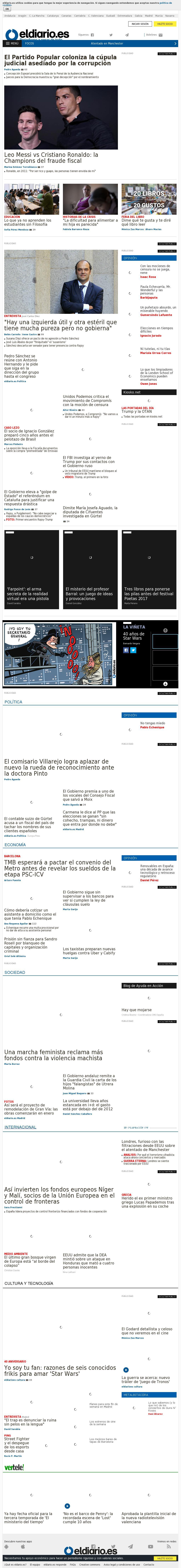 El Diario at Friday May 26, 2017, 9:06 a.m. UTC