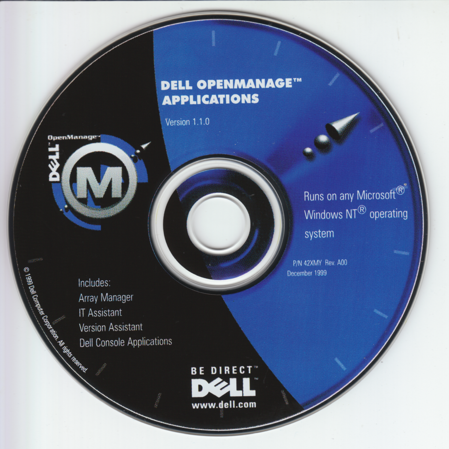 Dell OpenManage Applications v1.1.0 (42XMY-A00)