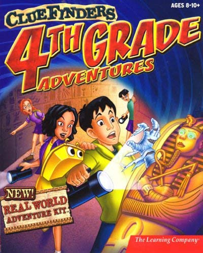 The ClueFinders 4th Grade Adventures: Puzzle of the Pyramid (1998)