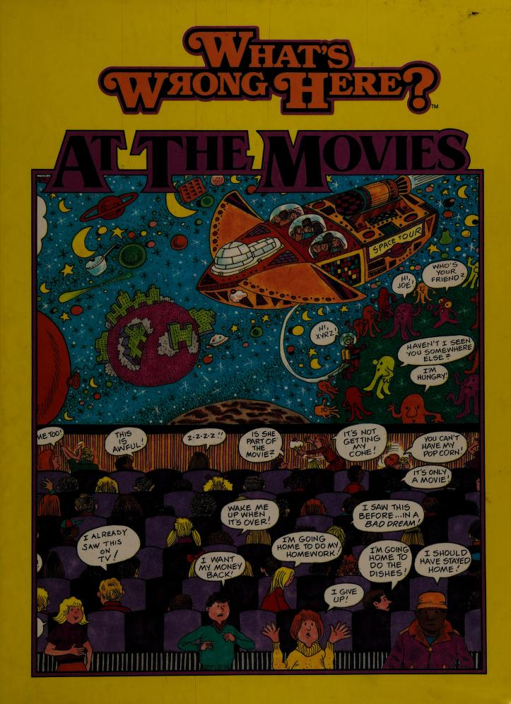 At the movies by Tony 'Anthony' Tallarico