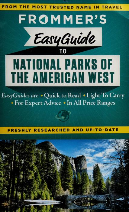 Frommer's easyguide to national parks of the American West by Don Laine