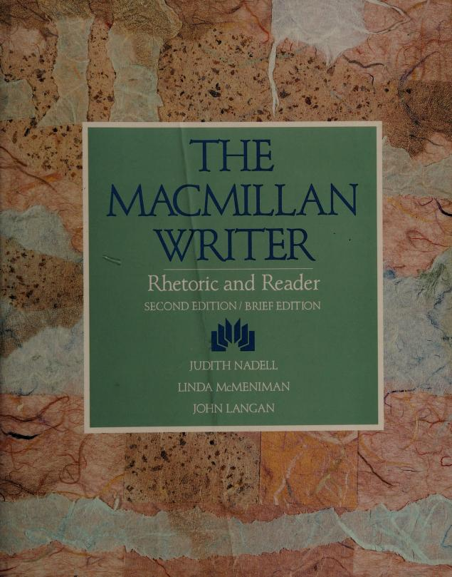 The Macmillan writer by Judith Nadell