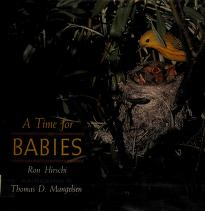 Cover of: A time for babies | Ron Hirschi