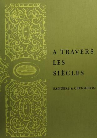 Cover of: Travers les siècles | Sanders,James Bernard.