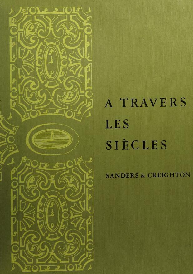 Travers les siècles by Sanders,James Bernard.